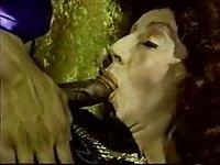 Mature Tgirl loves mutual oral fun in classic porn