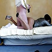 Amateur sissies get their smooth asses fucked hard by older men