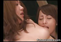 Hot Futanari Orgy!