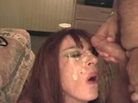 Older once innocent transsexual wife Diannexxxcd giving a stranger a fantastic oral treat