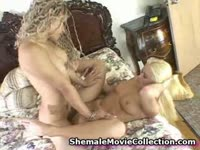Fun-seeking never before seen transsexual teen Jennifer and her friends fucking in this xxx vid