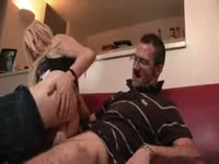 Sinful leggy transsexual cougar Liberty Harkness bending over for a hardcore anal slamming