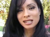 Beautiful transsexual MILF Lilienne looks stunning as she models in her first video feature